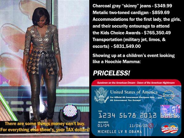 TheRightRant: Michelle Obama loves to spend your money